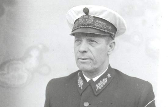 Station master in the 1940s