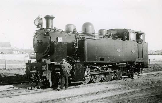 Steam engine 1907