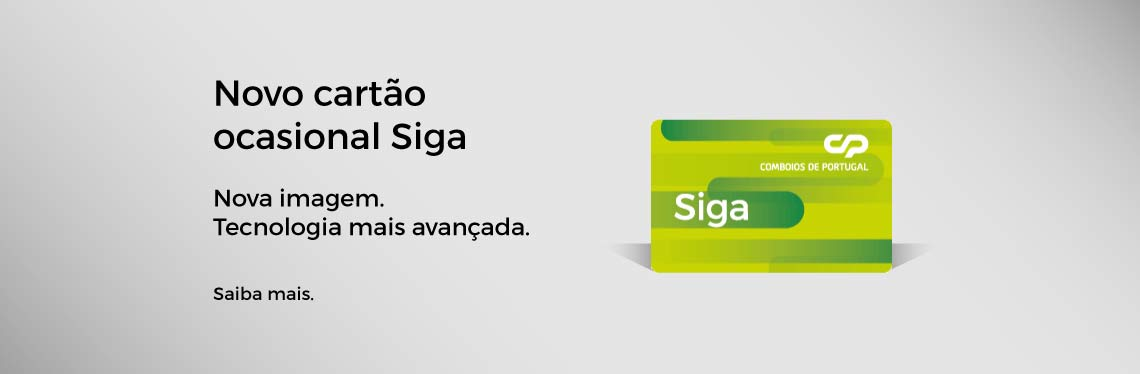 Siga Card occasional journeys