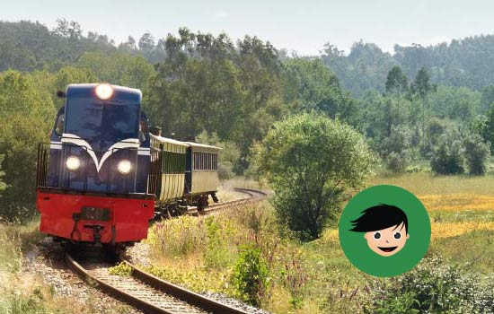 Come for a ride on the Vouga Historical Train