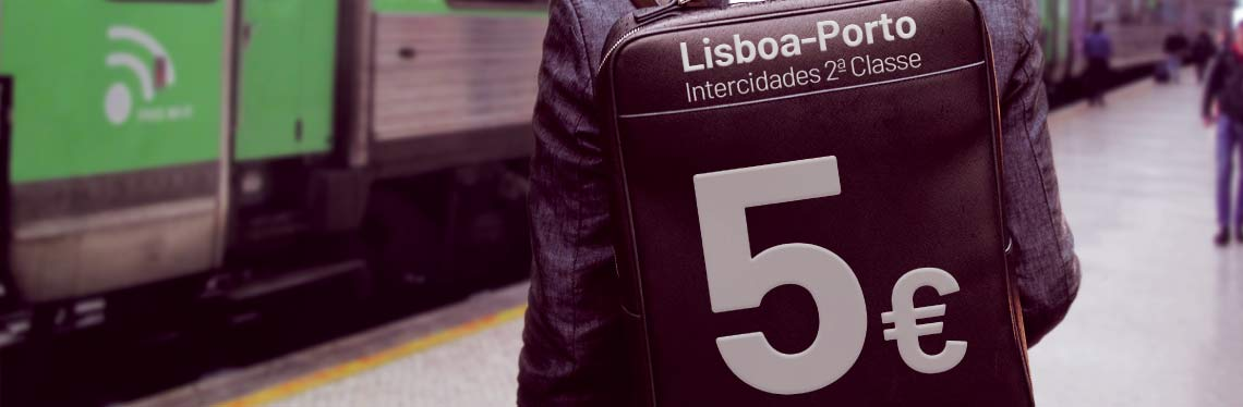 12 200 Intercidades journeys trains with 80% discount - From October 13