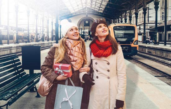 €2 Journeys for Christmas shopping – Lisbon, Oporto and Coimbra Urban Trains