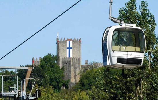 Guimarães cable car